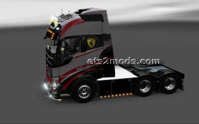2014-03-04-Volvo-FH-Full-Paint-and-sideskirts-mod-by-Punisher-2s